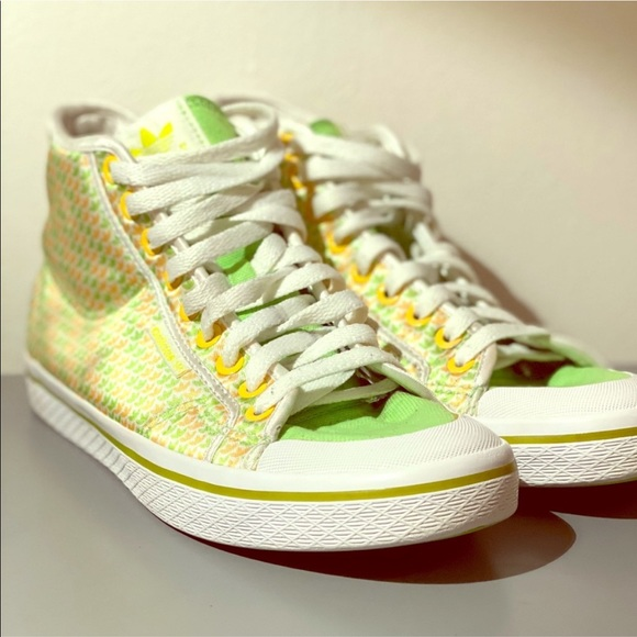 adidas Shoes   Honey Mid High Tops Rare